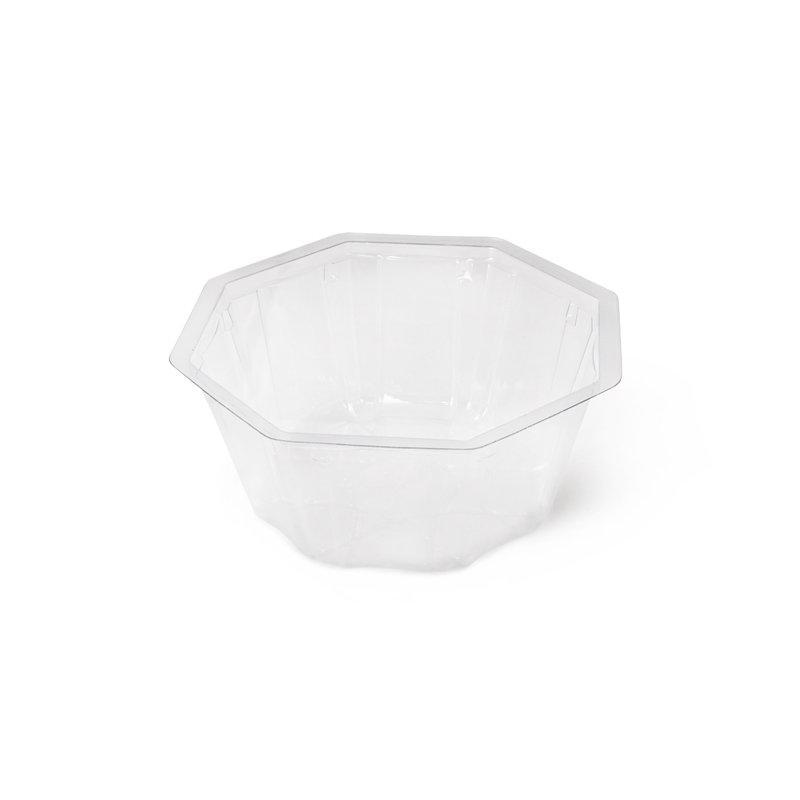 Салатник прозрачный, PVC, 155*70 мм, 900 мл