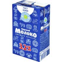 Молоко Просто молоко ультрапастеризованное 3,2% 1 л