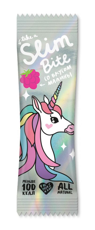 Батончик Bite Slim Unicorn Малина