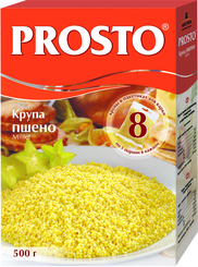 Крупа пшеничная Prosto шлифованная в пакетиках для варки