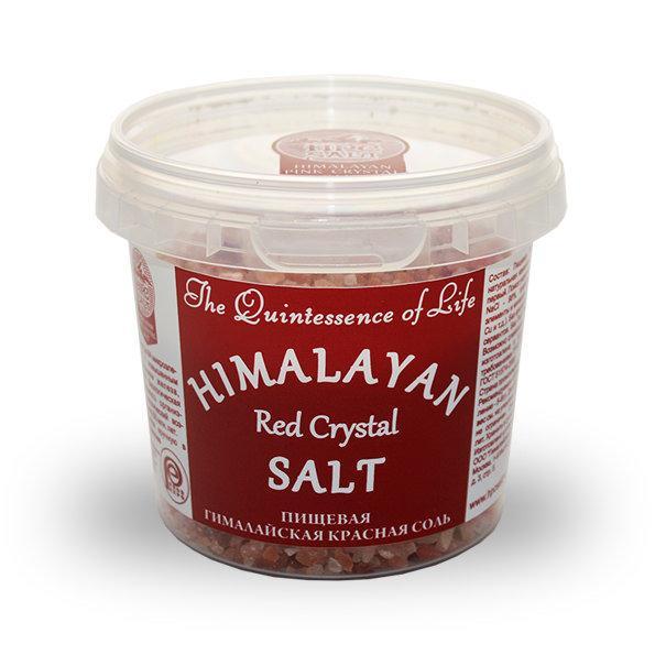 Соль Himalayan Pink Crystal Salt Гималайская Красная крупный помол