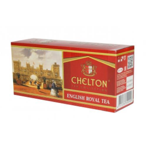 Чай черный Chelton English Royal 25 пакетов