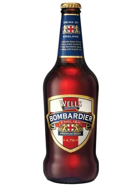 Пиво  Bombardier 5,2%
