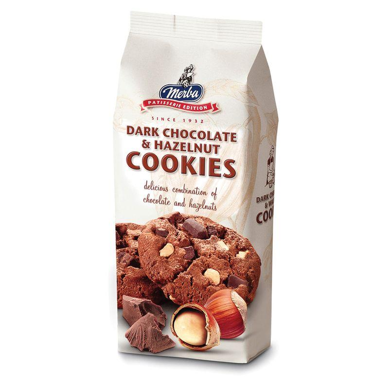 Печенье Merba Темный шоколад и фундук