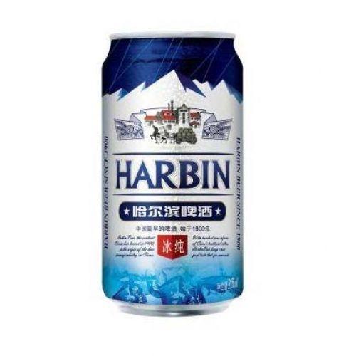 Пиво Harbin Ice светлое