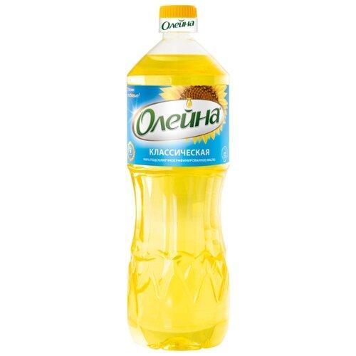 Масло подсолнечное Олейна рафинированное дезодорированное