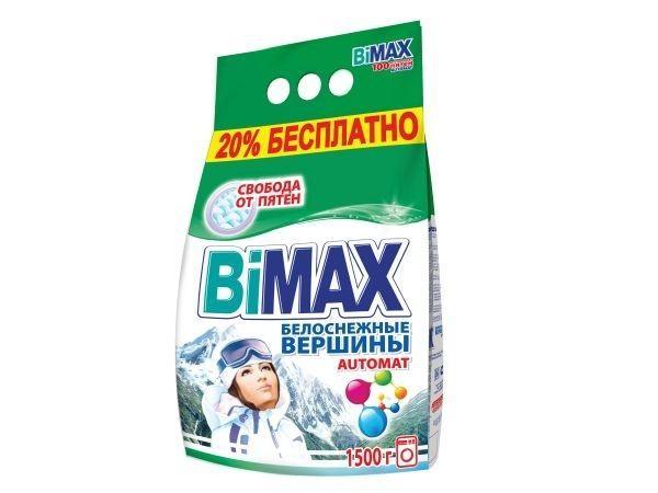 Стиральный порошок Bimax Белоснежные вершины