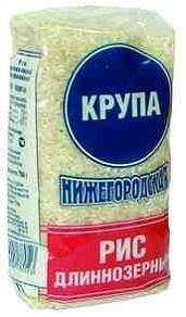 Рис Нижегородская длиннозерный