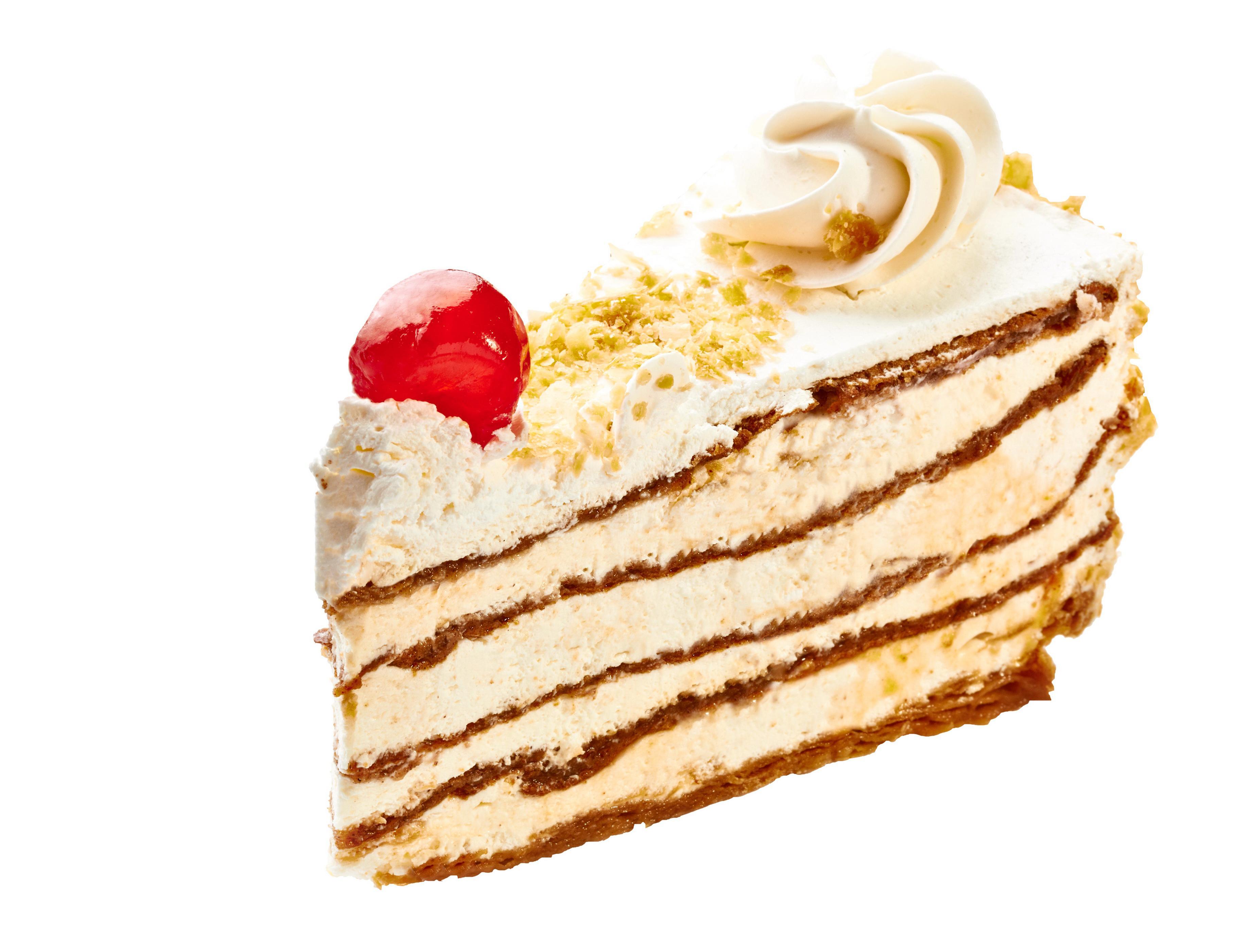 Пирожное Слоянка Тридцать третье с нежным кремом