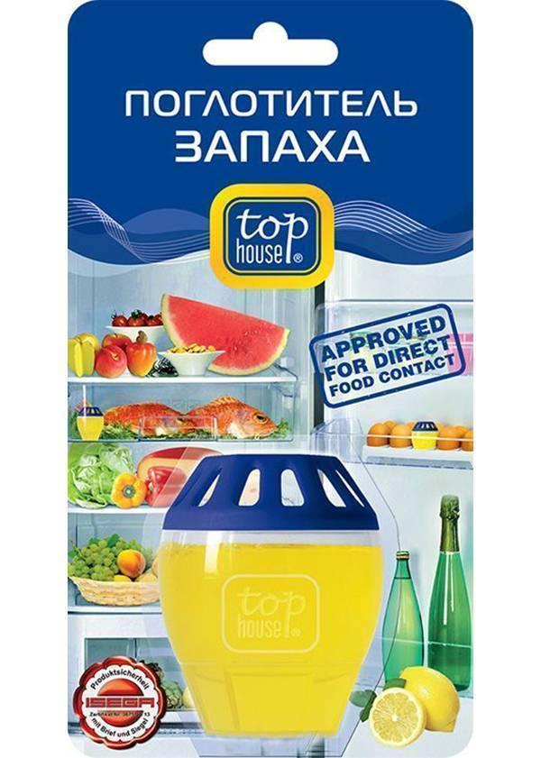 Поглотитель запаха в холодильнике Top House Лимон
