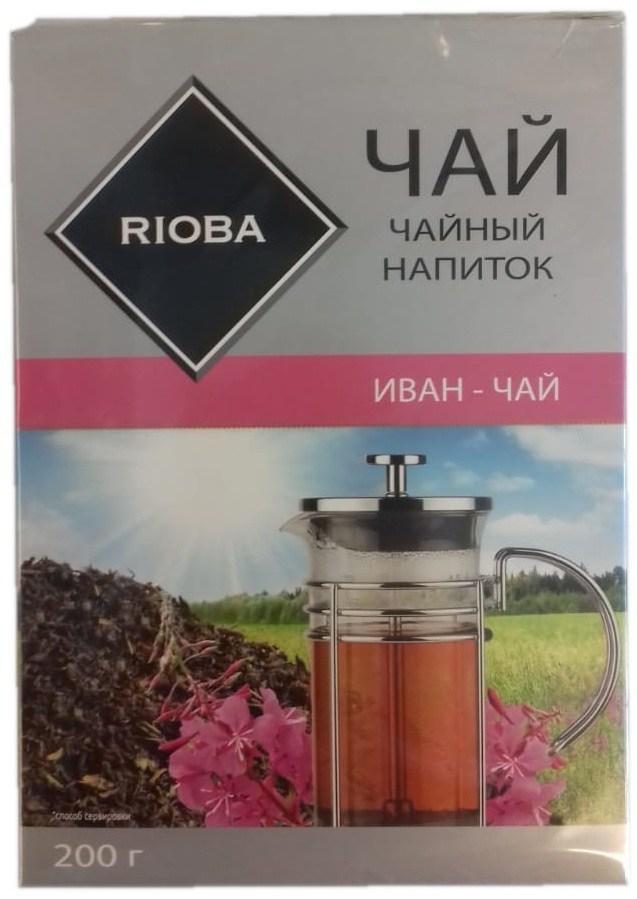 Чай черный Rioba Иван-чай листовой