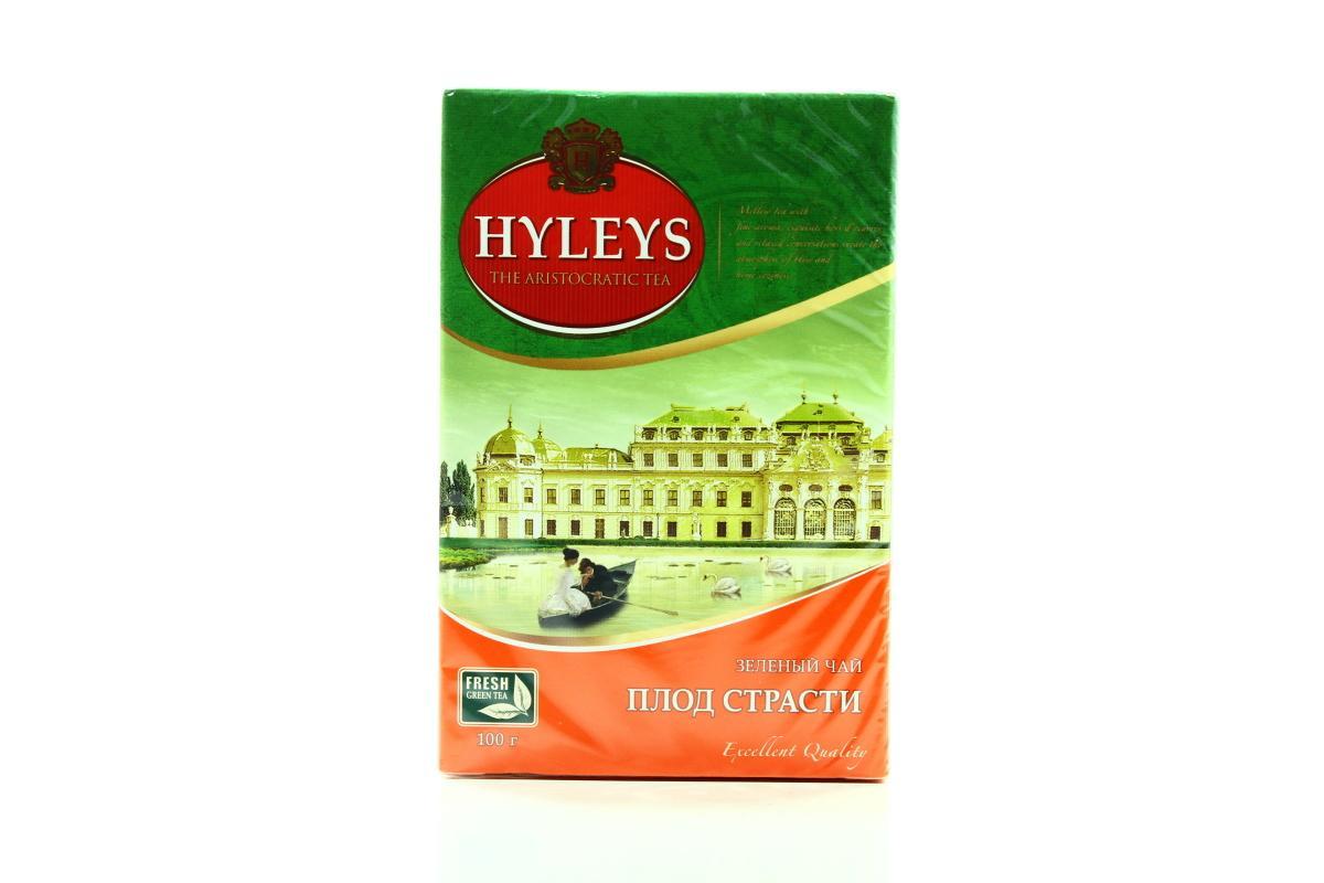 Чай Hyleys Плод Страсти зеленый листовой