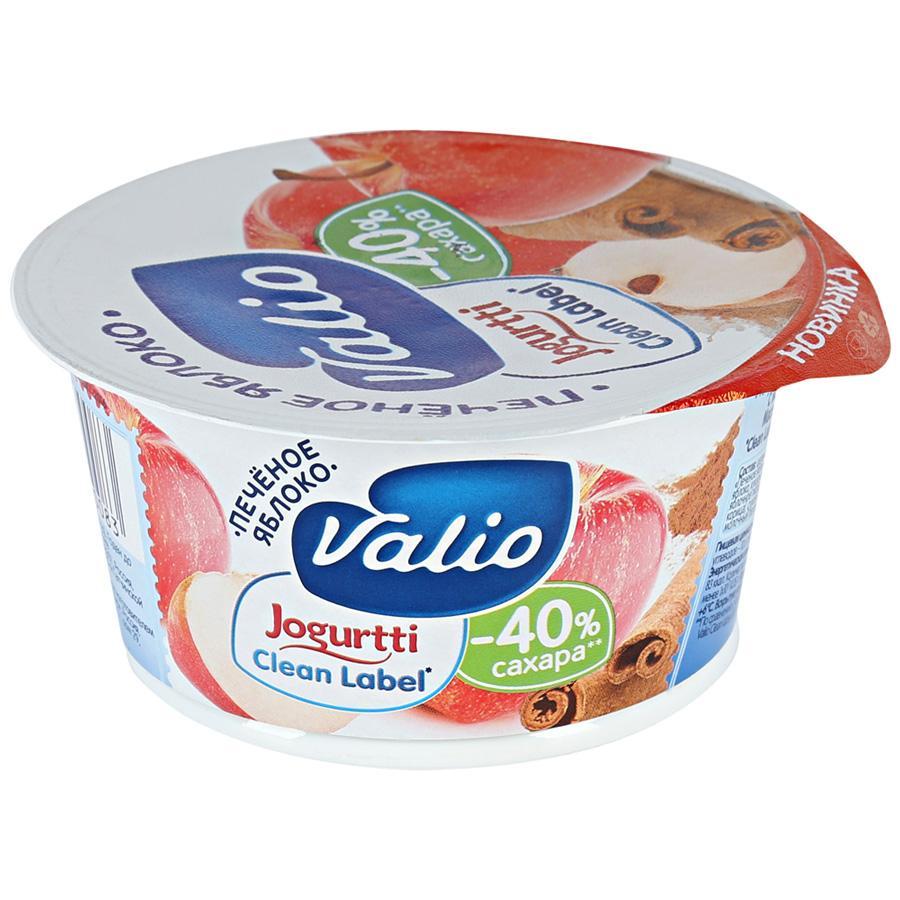 Йогурт Valio Печеное яблоко с корией 2,9%