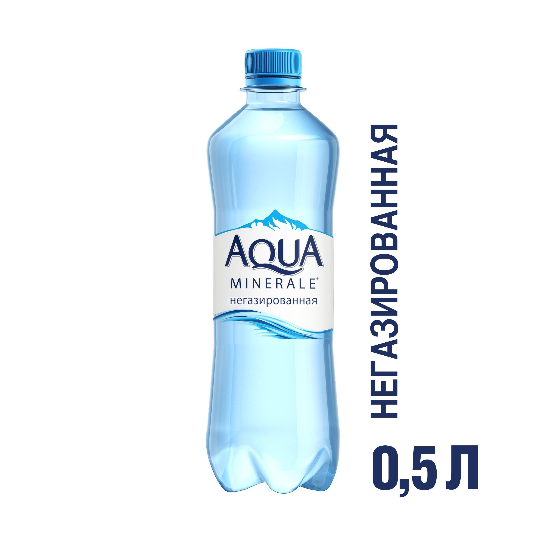 Вода Аква Минерале негазированная
