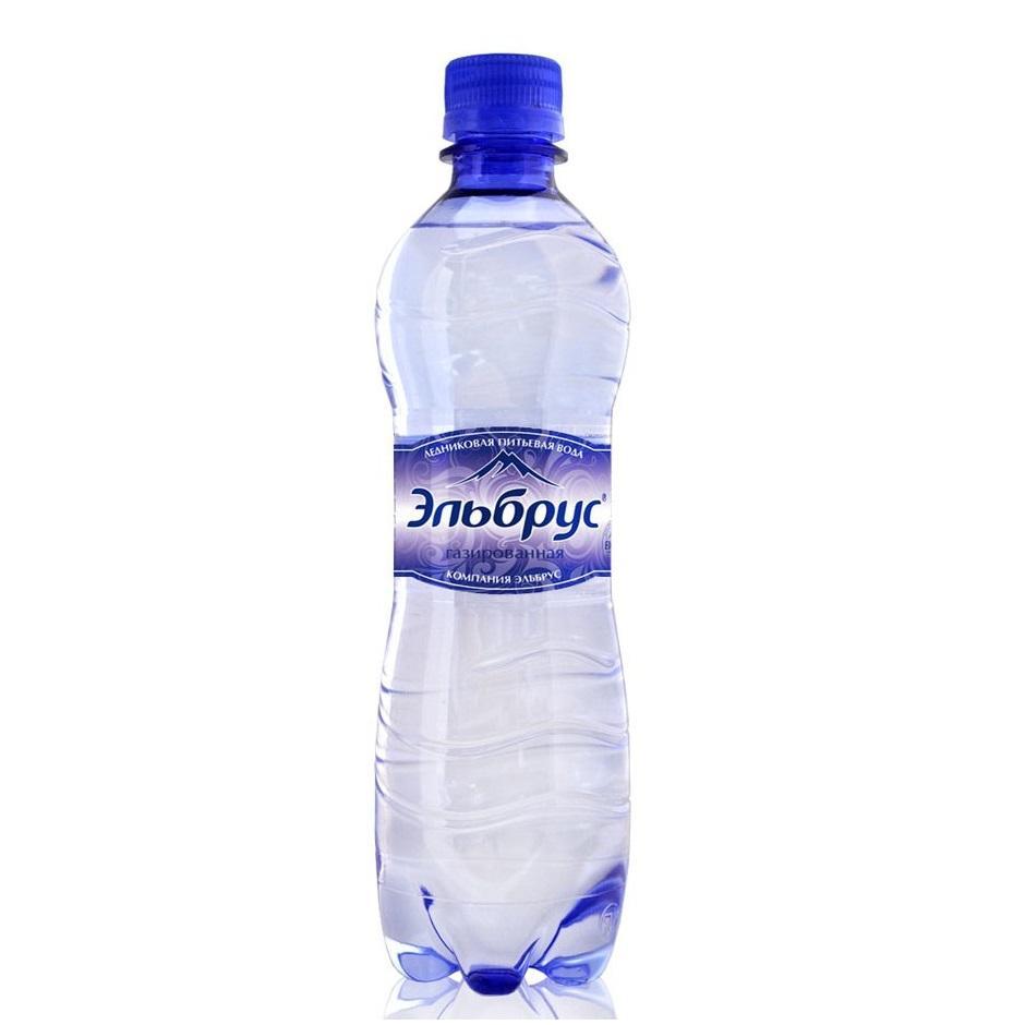 Минеральная вода Эльбрус газированная