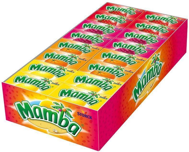 Жевательная конфета Storck Мамба 48 шт.