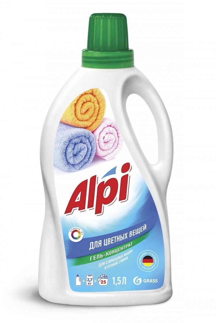 Гель-концентрат для стирки Grass Alpi Color Gel для цветных вещей