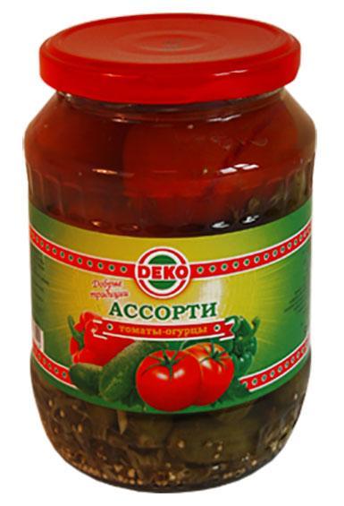 Ассорти Deko томаты огурцы