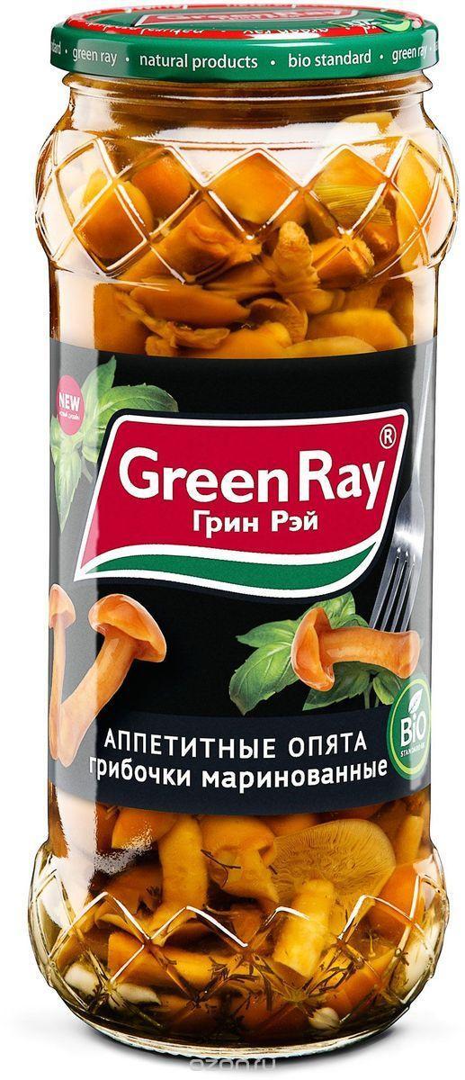 Грибы Green Ray Аппетитные опята маринованные