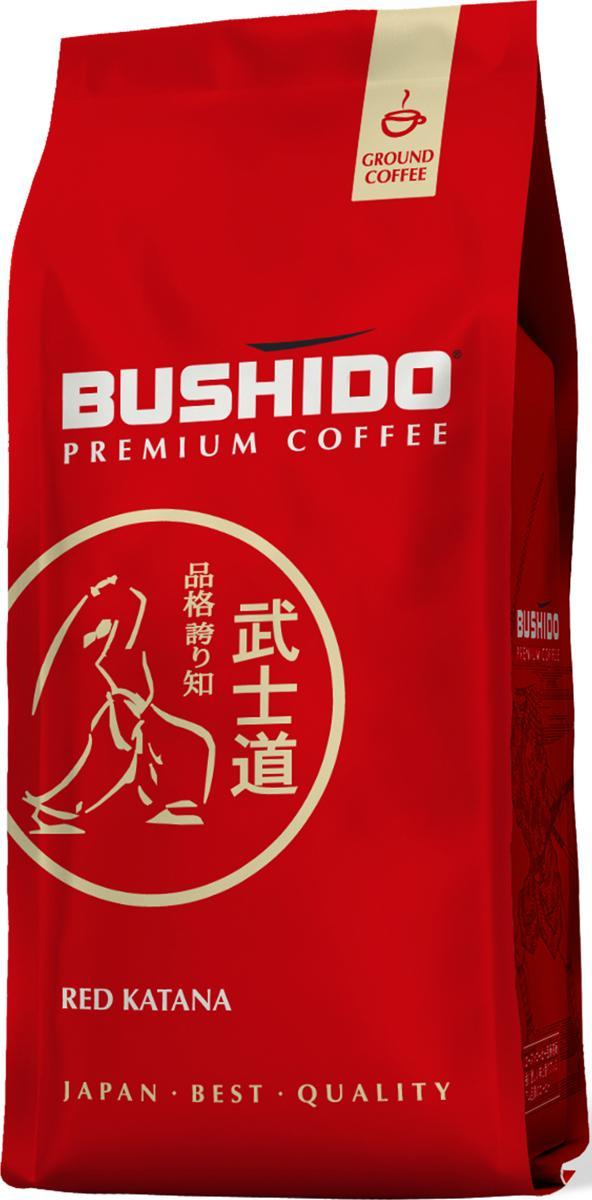 Кофе Bushido Red Katana молотый