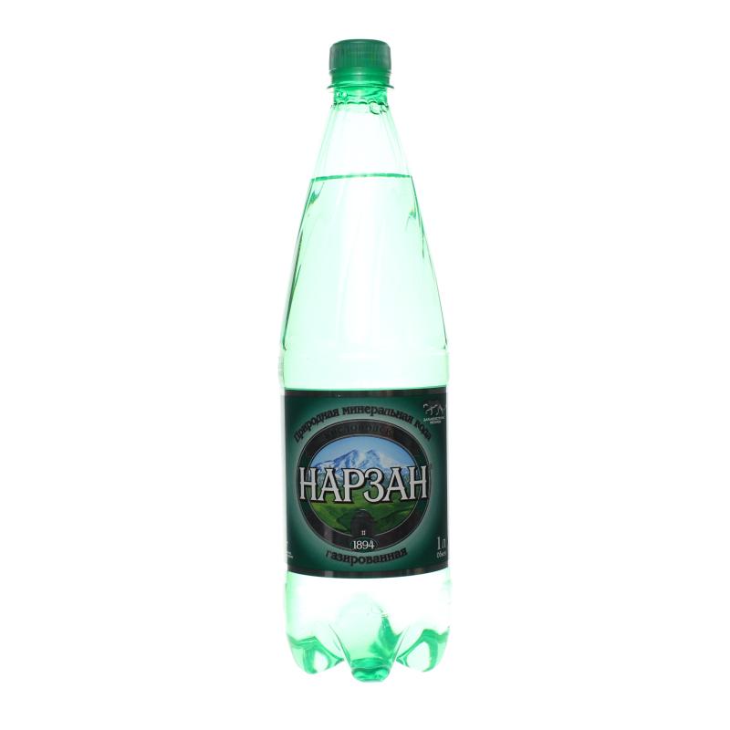 Газированная вода Нарзан
