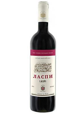 Вино Ласпи красное полусладкое 12%