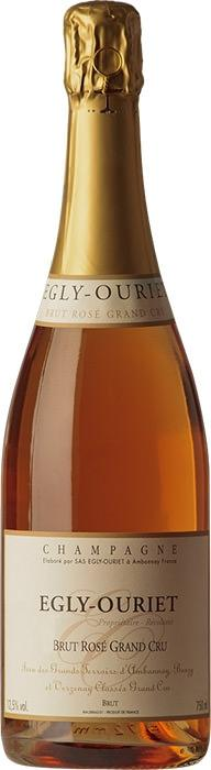 Шампанское Брют Розе Гран Крю / Brut Rose Grand Cru,  Пино Нуар, Шардоне,  Розовое Брют, Франция