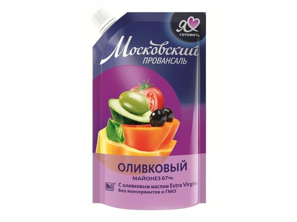 Майонез московский провансаль оливковый, 67%