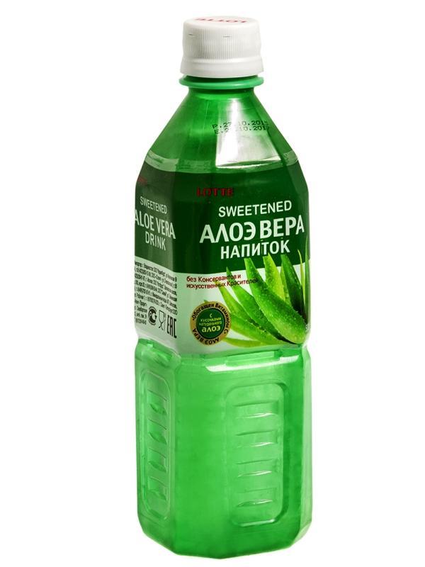 Напиток сокосодержащий Lotte Aloe Vera безалкогольный негазированный