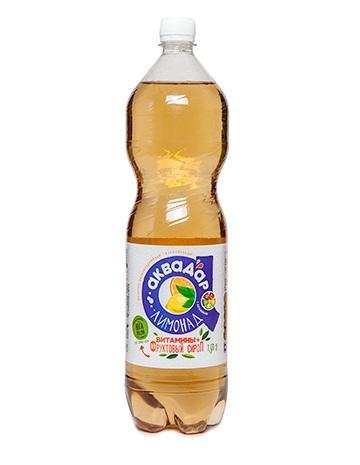 Газированный напиток Аквадар Сокосодержащий Лимонад