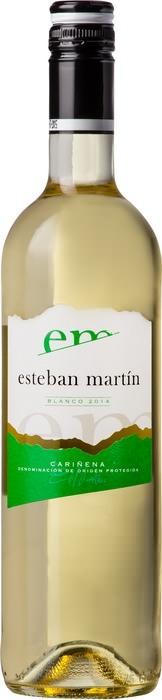 Вино Эстебан Мартин Бланко / Esteban Martin Blanco,  Шардоне, Макабео,  Белое Сухое, Испания