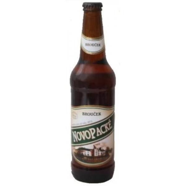 Пиво светлое солодовое Broucek 4,0%  0,5 л.