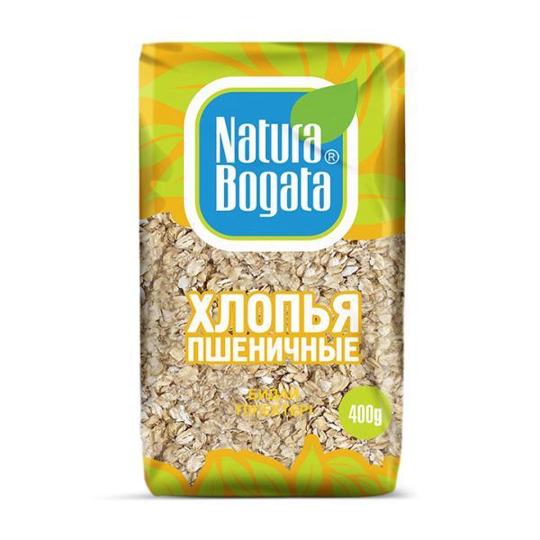 Хлопья Natura Bogata пшеничные