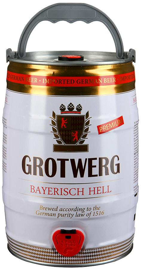 Пиво Grotwerg Bayerisch hell