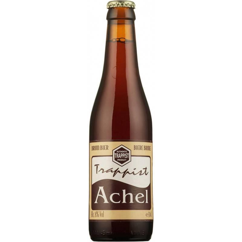 Пиво тёмное Trappist Achel Bruin 8% 0,33 л.