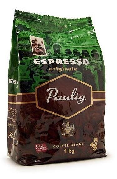 Кофе Paulig Espresso Originale в зернах 1000 гр