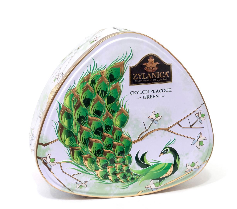 Чай Zylanica Peacock Collection зеленый байховый