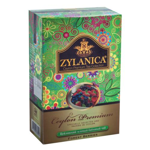Чай зеленый Zylanica Ceylon Premium Forest Bierries