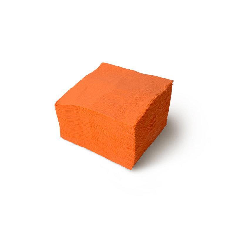 """Салфетки """"Gratias"""" оранжевые, 1-слойные, 240*240 мм"""