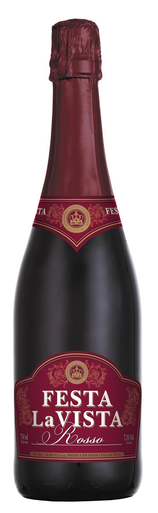 Напиток винный газированный «Феста ла Виста Россо», Россия
