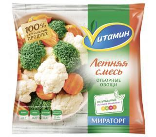 Овощи VИТАМИН Смесь Летняя 400гр