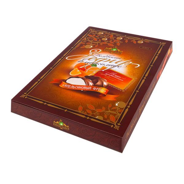 Зефир Белевские Сладости апельсиновый в шоколаде