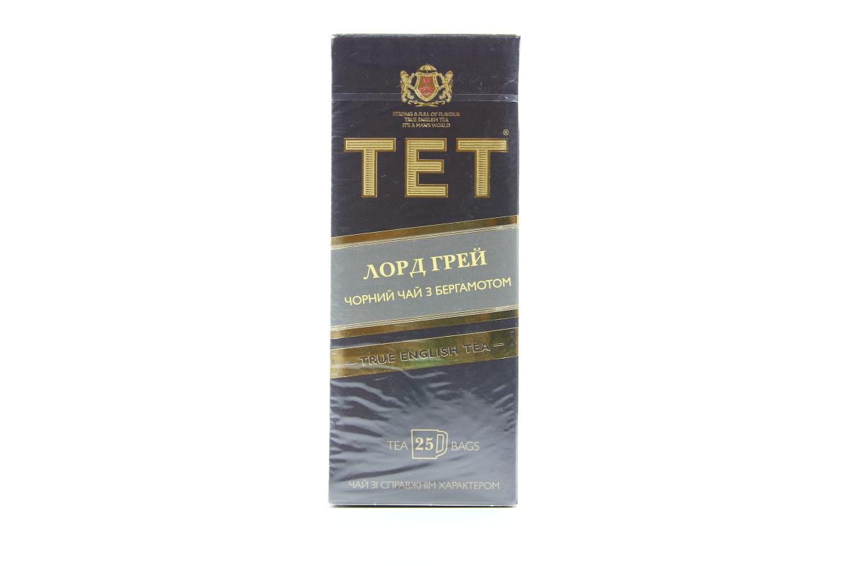 Чай ТЕТ Лорд Грей с бергамотом черный в пакетиках