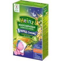 Каша Heinz Перед сном безмолочная многозерновая из 3 злаков с липой и ромашкой с 6 месяцев