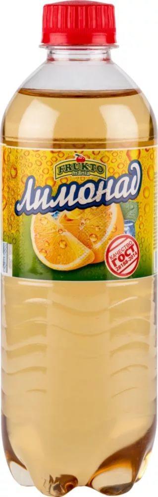 Газированный напиток Fruktomania лимонад оригинальный