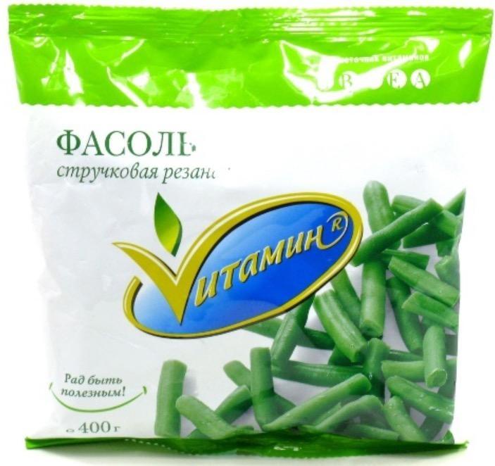 Овощи VИТАМИН Фасоль стручковая 30-40 мм.