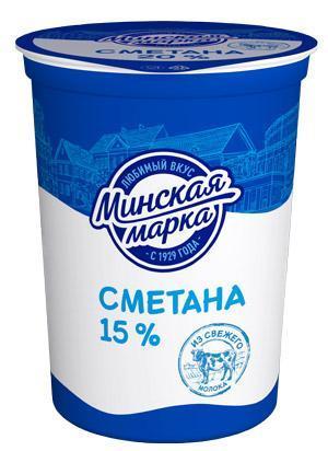 Сметана Славянские традиции 15%