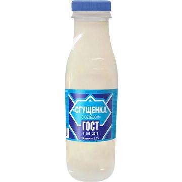 Сгущенное молоко Семейный Бюджет с сахаром