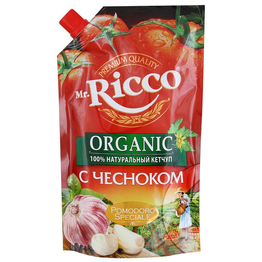 Кетчуп Mr. Ricco с чесноком