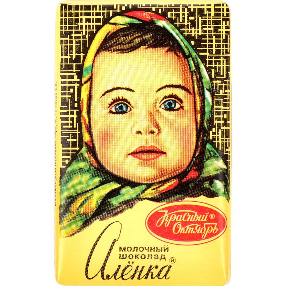 Шоколад Красный Октябрь Аленка молочный